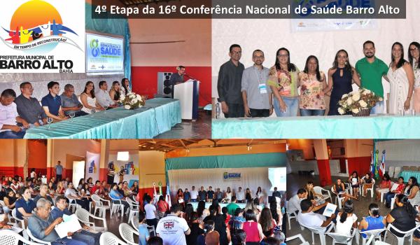 4º Etapa da 16º Conferência Nacional de Saúde - Barro Alto