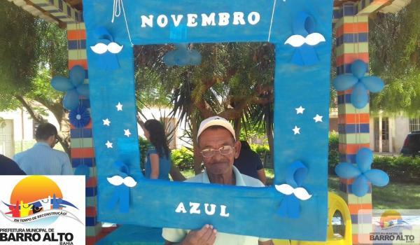 Barro Alto apoia o movimento Novembro Azul: incentivando os homens a cuidarem da saúde!