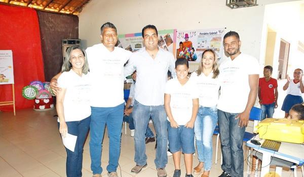 """Barro Alto conclui premiações do Concurso de Redação e Desenho o qual teve por tema """"Resíduos Sólidos: responsabilidade compartilhada com a família! """""""
