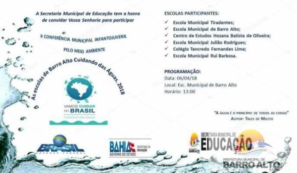 II Conferência Municipal Infantojuvenil pelo Meio Ambiente