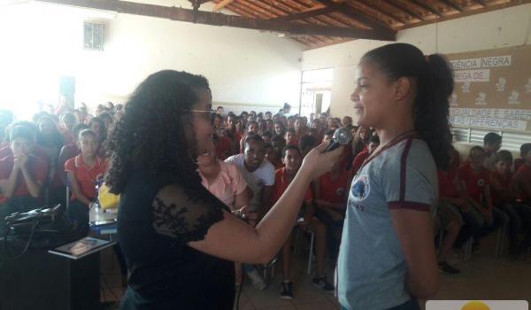 Palestra na Escola Municipal de Barro Alto