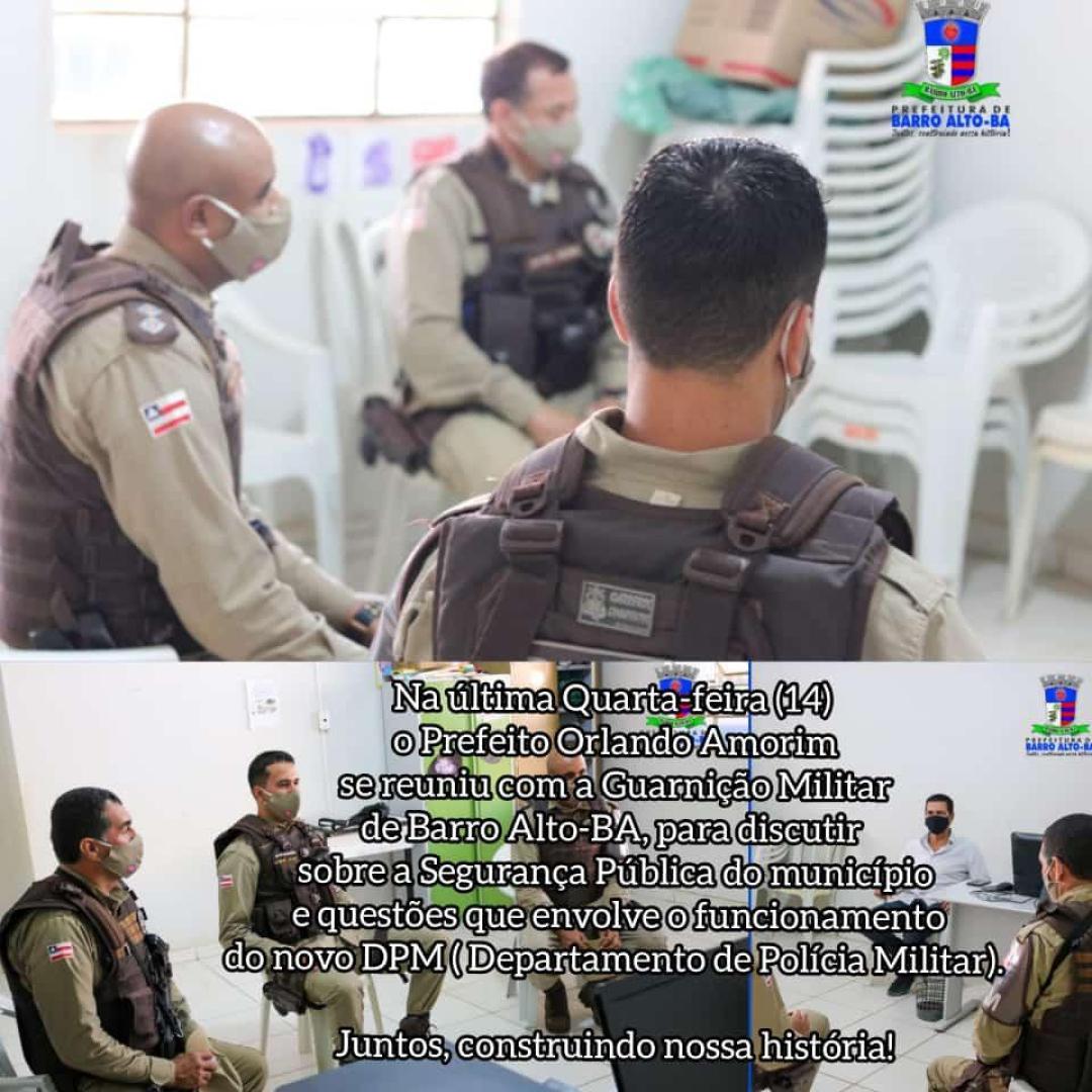 Reunião Sobre Segurança Pública
