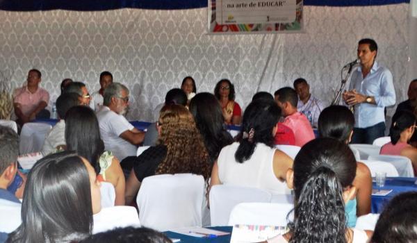 SECRETARIA DE EDUCAÇÃO REALIZA JORNADA PEDAGÓGICA.