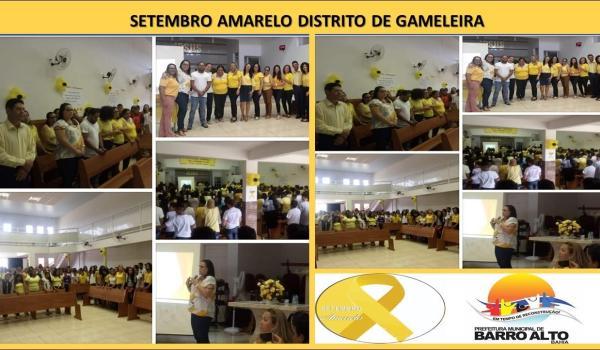 Setembro Amarelo Distrito de Gameleira